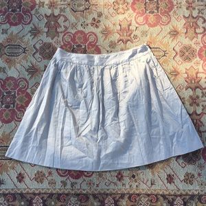 J. Crew grey cotton skirt